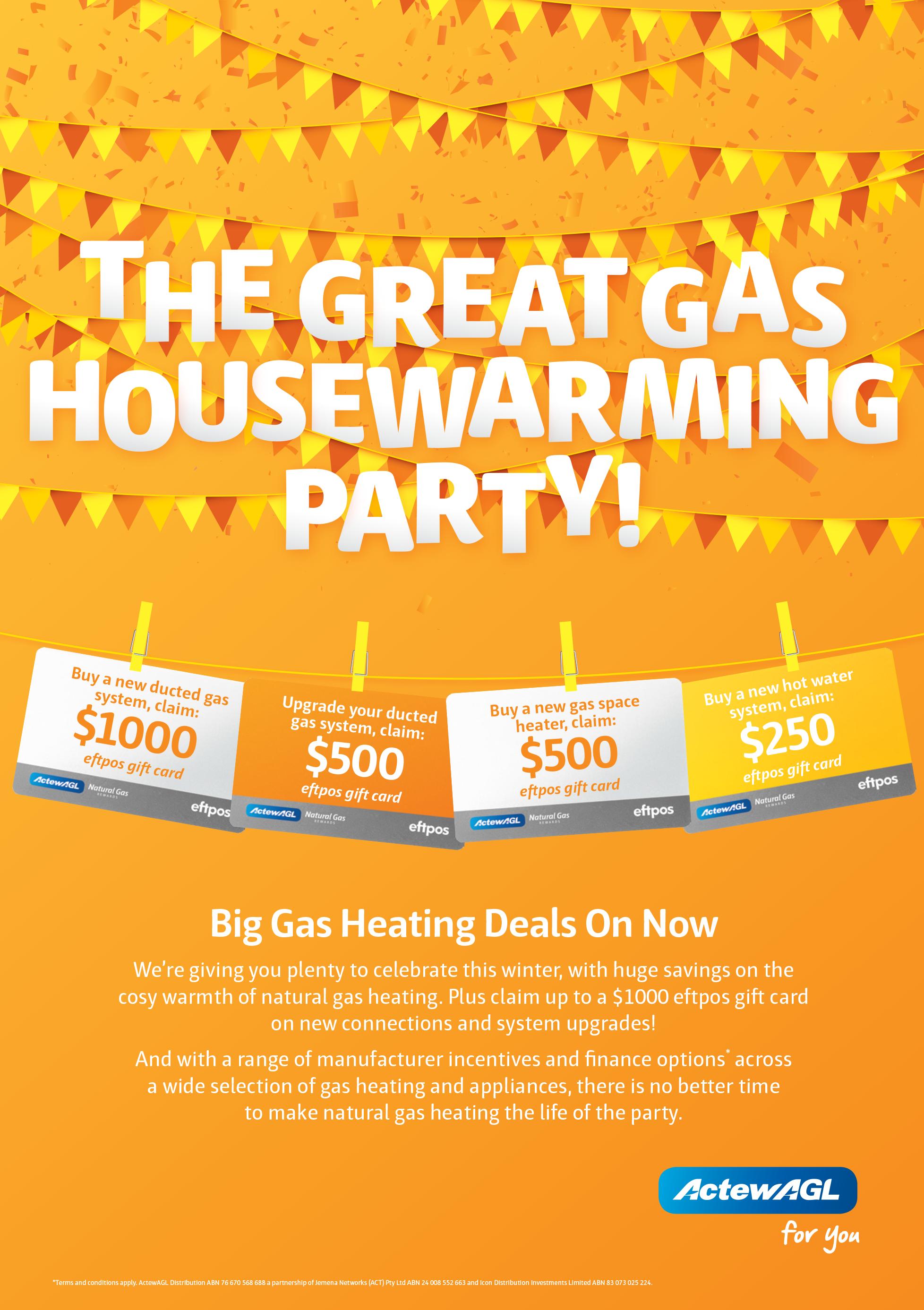 ActewAgl Gas Rewards
